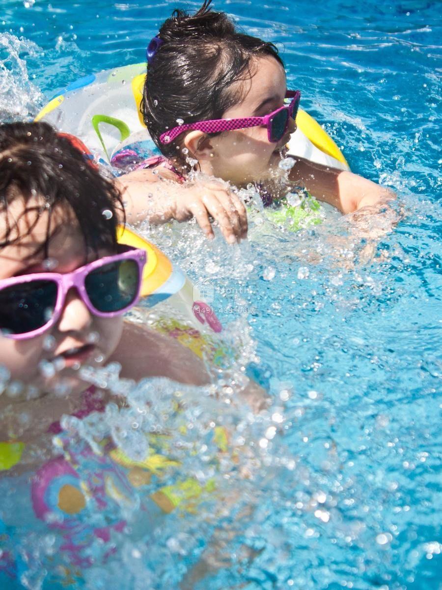 Portrait original sunglasses girl swimming pool swimming 61129